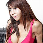 Bangkok katoey yosso. Tall and slender tranny from Thailand